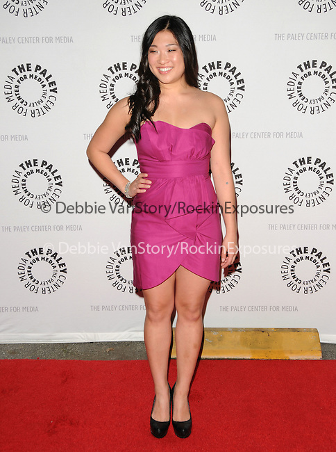 Jenna Ushkowitz at the Twenty-Seventh Annual PaleyFest: William S. Paley Television Festival honoring The Cast of Glee held at The  Saban Theatre in Beverly Hills, California on March 13,2010                                                                   Copyright 2010  DVS / RockinExposures