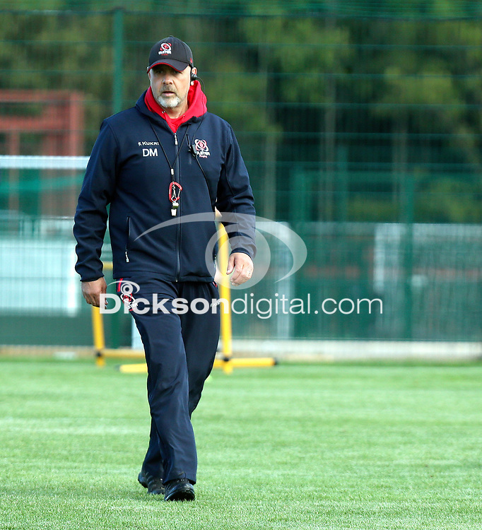 Tuesday 5th October 2021<br /> <br /> Dan McFarland during Ulster Rugby training at Newforge Country Club, Belfast, Northern Ireland. Photo by John Dickson/Dicksondigital