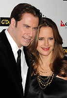 NEW YORK, NY - MAY 11: John Travolta found himself facing double trouble Tuesday: two lawsuits that allege sexual battery and harassment on May 11, 2012 in New York City. <br /> <br /> People:  John Travolta; Kelly Preston