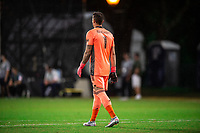 LAKE BUENA VISTA, FL - JULY 23: David Bingham #1 of the LA Galaxy waits for the ball during a game between Los Angeles Galaxy and Houston Dynamo at ESPN Wide World of Sports on July 23, 2020 in Lake Buena Vista, Florida.