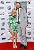 "LOS ANGELES, USA. November 20, 2019: Arden Myrin & Guest at the gala screening for ""The Aeronauts"" as part of the AFI Fest 2019 at the TCL Chinese Theatre.<br /> Picture: Paul Smith/Featureflash"