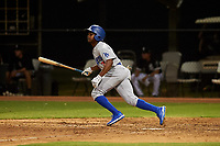 AZL Dodgers Lasorda Aldrich De Jongh (3) at bat during an Arizona League game against the AZL White Sox at Camelback Ranch on June 18, 2019 in Glendale, Arizona. AZL Dodgers Lasorda defeated AZL White Sox 7-3. (Zachary Lucy/Four Seam Images)