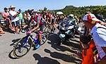 """La Vuelta 2017.<br /> <br /> 6a etapa.<br /> <br /> Vila-real - Sagunt.<br /> <br /> Paso por el puerto de 2a categoria de """"El Garbí"""".<br /> <br /> 24 de agosto de 2017.<br /> <br /> Puerto de El Garbi.<br /> Segart, Valencia - España."""