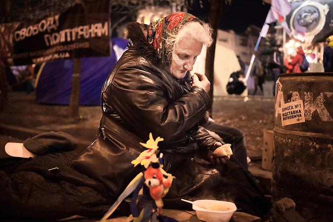 Pro EU Demonstrationen in Kiew, Besetzung Regierungsgebäude, 05.12.2013 /  Pro European demonstrations in Kiev, 05.12.2013, occupied buildings of the gouverment