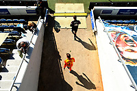 24th April 2021; The Kiyan Prince Foundation Stadium, London, England; English Football League Championship Football, Queen Park Rangers versus Norwich; Tim Krul of Norwich City walks out of the tunnel
