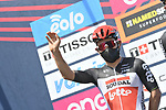 Caleb Ewan (AUS) Lotto-Soudal at sign on before the start of the 101st edition of Milan-Turin 2020 running 198km from Mesero to Stupinigi (Nichelino), Italy. 5th August 2020.<br /> Picture: LaPresse/Fabio Ferrari | Cyclefile<br /> <br /> All photos usage must carry mandatory copyright credit (© Cyclefile | LaPresse/Fabio Ferrari)