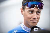 Niki Terpstra (NED/Total - Direct Energie) pre race sporza interview<br /> <br /> Circuit de Wallonie 2019<br /> One Day Race: Charleroi – Charleroi 192.2km (UCI 1.1.)<br /> Bingoal Cycling Cup 2019