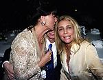 ELSA MARTINELLI, GIANNI DEI E MARA VENIER<br /> COMPLEANNO ELSA MARTINELLI AL JEFF BLYNN'S   ROMA 2000