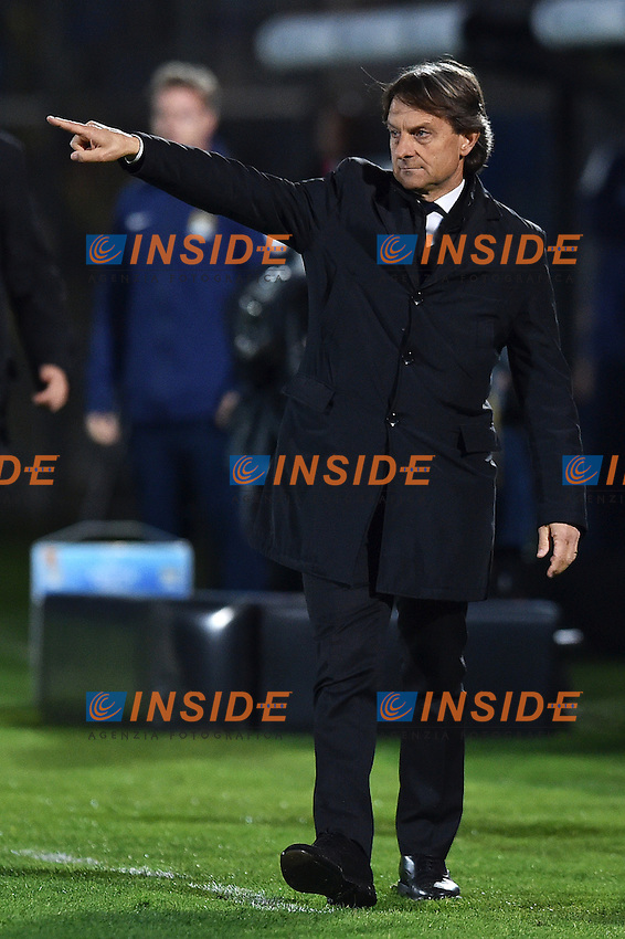Alberto De Rossi <br /> Latina 17-03-2015 Stadio Domenico Francioni Football Calcio Youth Champions League 2014/2015 AS Roma - Manchester City. Foto Andrea Staccioli / Insidefoto