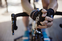 Ian Boswell (USA/SKY) warming up before the race<br /> <br /> stage 16: Luarca - Ermita de Alba<br /> 2015 Vuelta à Espagna