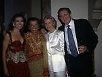 BARBARA D'URSO CON NORI CORBUCCI, MARINA CICOGNA E MICHELE MIRABELLA<br /> FESTA DI PRIMAVERA A VILLA FRACASSI ROMA 1997