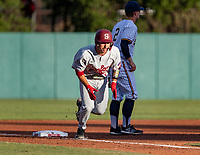 STANFORD, CA - JUNE 7: Kody Huff during a game between UC Irvine and Stanford Baseball at Sunken Diamond on June 7, 2021 in Stanford, California.