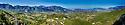 Panoramic view form Picinisco, Italy, over towards Altina.