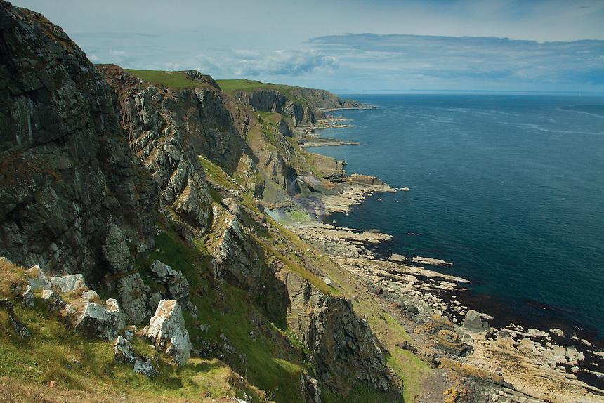 The Scottish Borders Coast from near St Abbs Head Nature Reserve, Scottish Borders