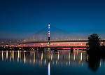 Matisse by Gail Christofferson | | Toledo Veteran's Glass City Skyway Bridge | HLB Lighting