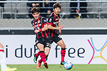 FC Seoul Midfielder Lee Seokhyun (L) in action during the AFC Champions League 2017 Group F match between FC Seoul (KOR) vs Western Sydney Wanderers (AUS) at the Seoul World Cup Stadium on 15 March 2017 in Seoul, South Korea. Photo by Chung Yan Man / Power Sport Images