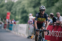 belgian champion Yves Lampaert (BEL/Quick Step Floors) up the final climb, 700 meters from the finish<br /> <br /> Stage 5: Lorient > Quimper (203km)<br /> <br /> 105th Tour de France 2018<br /> ©kramon
