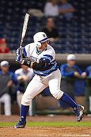Seton Hall Pirates first baseman Sal Annunziata #11 during a game against the Ohio State Buckeyes at the Big Ten/Big East Challenge at Florida Auto Exchange Stadium on February 18, 2012 in Dunedin, Florida.  (Mike Janes/Four Seam Images)