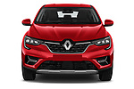 Car photography straight front view of a 2021 Renault Arkana Intens 5 Door SUV Front View