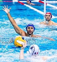 10 ITA BODEGAS Michael Alexandre Italy<br />  <br /> Budapest 16/01/2020 Duna Arena <br /> France (white caps) Vs. Italy (blue caps) Men<br /> XXXIV LEN European Water Polo Championships 2020<br /> Photo  ©Giorgio Scala / Deepbluemedia / Insidefoto