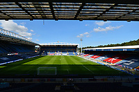 A general view of Ewood Park, home of Blackburn Rovers<br /> <br /> Photographer Richard Martin-Roberts/CameraSport<br /> <br /> The EFL Sky Bet Championship - Blackburn Rovers v Wycombe Wanderers - Saturday 19 September 2020 - Ewood Park - Blackburn<br /> <br /> World Copyright © 2020 CameraSport. All rights reserved. 43 Linden Ave. Countesthorpe. Leicester. England. LE8 5PG - Tel: +44 (0) 116 277 4147 - admin@camerasport.com - www.camerasport.com