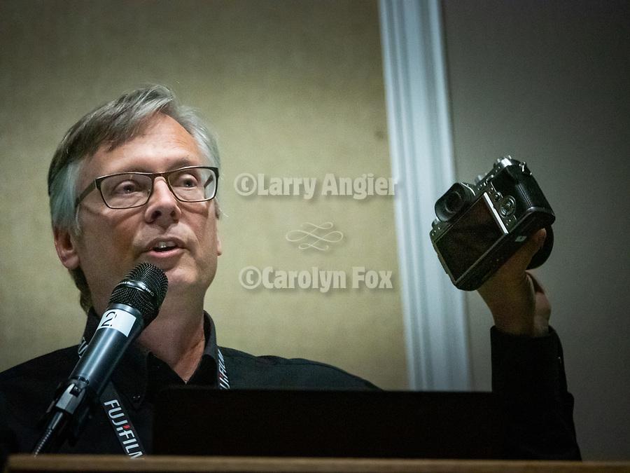 Speakers at Shooting the West XXX  Michael Bulbenko, Fujifilm Digital<br /> <br /> #ShootingTheWest XXX, #WinnemuccaNevada,