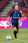 FC Internazionale Midfielder Borja Valero in action during the International Champions Cup match between FC Bayern and FC Internazionale at National Stadium on July 27, 2017 in Singapore. Photo by Marcio Rodrigo Machado / Power Sport Images