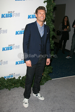 LOS ANGELES, CA - DECEMBER 01: Ryan Seacrest at KIIS FM's 2012 Jingle Ball at Nokia Theatre L.A. Live on December 1, 2012 in Los Angeles, California. Credit: mpi21/MediaPunch Inc.