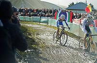 U23 World CX Champion Wout Van Aert (BEL) and European Champion Michael Vanthourenhout (BEL)<br /> <br /> 2014 Noordzeecross