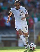 PASADENA, CA – June 25, 2011: USA player Landon Donovan (10) during the Gold Cup Final match between USA and Mexico at the Rose Bowl in Pasadena, California. Final score USA 2 and Mexico 4.