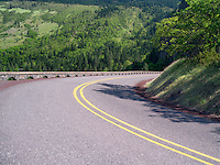 Road in Columbia River Gorge National Scenic Area, Oregon