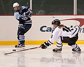 Lauren Helm (CC - 7), Jessica Bowen (Bowdoin - 16) - The Babson College Polar Bears defeated the Connecticut College Camels 3-0 on Thursday, January 12, 2017, at Fenway Park in Boston, Massachusetts.