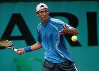 4-6-06,France, Paris, Tennis , Roland Garros, Thiemo de Bakker