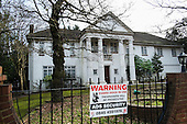 The Georgians, one of 10 empty and semi-derelict mansions in The Bishops Avenue in north London, sold by the Saudi royal family to the LJ Capital investment fund in 2013 for £73 million. Many other mansions in the street, also known as Billionaire's Row, have been left vacant by their mostly overseas owners.
