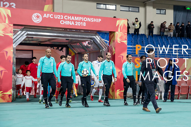 Uzbekistan vs South Korea during the AFC U23 Championship China 2018 Semi-finals match at Kunshan Stadium on 23 January 2018, in Kunshan, China. Photo by Yu Chun Christopher Wong / Power Sport Images