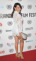 """Elizabeth """"Lizzie"""" Cundy attends the """"My Hero"""" Raindance Film Festival UK film premiere, Vue Piccadilly cinema, Lower Regent Street, London, England, UK, on Friday 25 September 2015. <br /> CAP/CAN<br /> ©Can Nguyen/Capital Pictures"""