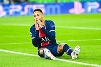 13th April 2021; Parc de Princes, Paris, France; UEFA Champions League football, quarter-final; Paris Saint Germain versus Bayern Munich;   Neymar Jr (PSG) misses a good scoring chance
