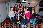 """The cast of """"Into-Me-See"""" play in the Meadowlands Hotel on Sunday. Written & directed by Fidelma Fitzgerald and the proceeds go to the Kerry Festival of Pride.<br /> Front l to r: Karen Conway and Regina O'Connor.<br /> L to r: Joanne Bolton, Namejs Balodis, Katie Moloney and Fidelma Fitzgerald (Director).<br /> Back l to r: Perseus O'Brien, Chloe Hood, Louise Ward, Margaret O'Donoghue and Owen Rua Herlihy."""