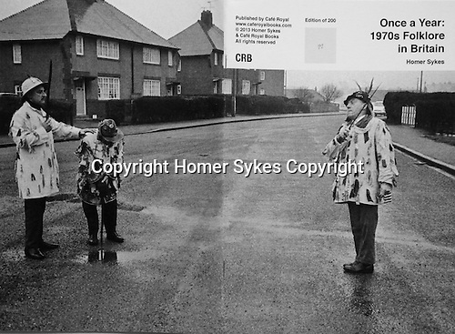 Once a Year: 1970s Folklore in Britain.<br /> <br /> PhotoZine published by Cafe Royal Books. Edition of 200. All book shop copies  sold out. I have a FEW COPIES LEFT. Published in 2013. 36 pages, staple bound, A5.<br /> <br /> £15-00 including p&p in UK