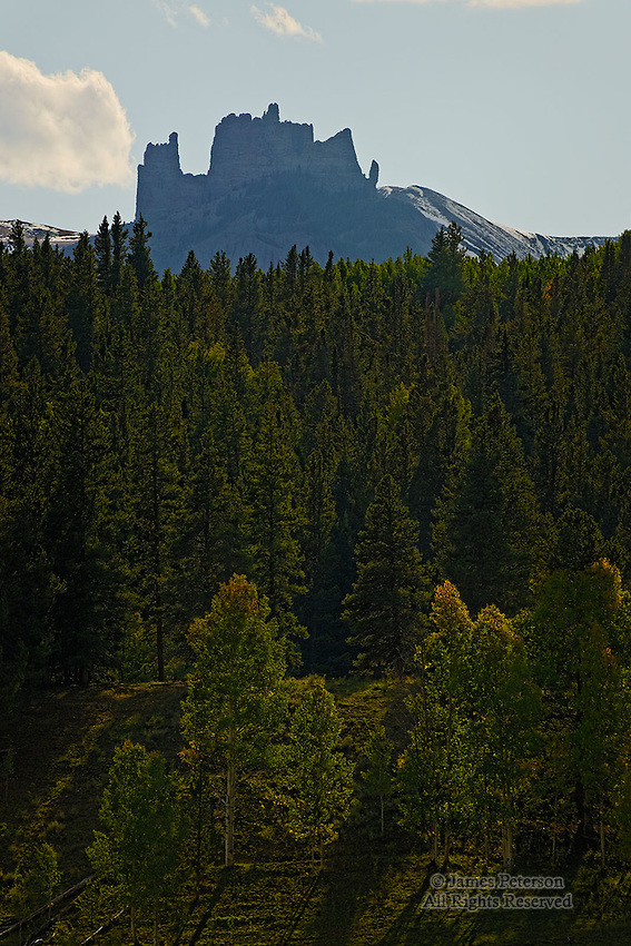The Castle, Volcanic Ridge near Crested Butte, Colorado