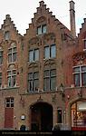 De Witte Poorte, 13th century, Jan van Eyckplein, Bruges, Brugge, Belgium