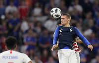 Lyon, France - Saturday June 09, 2018: Antoine Griezmann during an international friendly match between the men's national teams of the United States (USA) and France (FRA) at Groupama Stadium.
