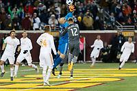 Minneapolis, MN - Saturday March 31, 2018: Minnesota United FC played Atlanta United FC in a Major League Soccer (MLS) game at TCF Bank stadium. Minnesota United 0, Atlanta United 1