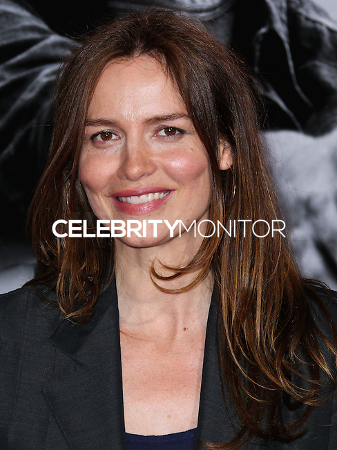 HOLLYWOOD, LOS ANGELES, CA, USA - AUGUST 13: Saffron Burrows at the World Premiere Of Relativity Media's 'The November Man' held at the TCL Chinese Theatre on August 13, 2014 in Hollywood, Los Angeles, California, United States. (Photo by Xavier Collin/Celebrity Monitor)