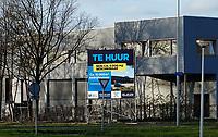 Nederland  Amsterdam-  2020. Sloterdijk. Bedrijfsruimte te huur.   Foto : ANP/ HH / Berlinda van Dam