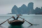Scene from Ha Long Bay, Vietnam