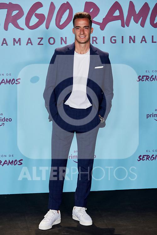 "Lucas Vazquez attends to ""El Corazon De Sergio Ramos"" premiere at Reina Sofia Museum in Madrid, Spain. September 10, 2019. (ALTERPHOTOS/A. Perez Meca)"