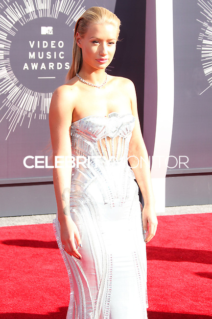 LOS ANGELES, CA, USA - AUGUST 24: Iggy Azalea at the 2014 MTV Video Music Awards held at The Forum on August 24, 2014 in the Los Angeles, California, United States. (Photo by Xavier Collin/Celebrity Monitor)