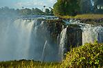 Victoria Falls, Mosi-os-Tunya, from the Zimbabwe side