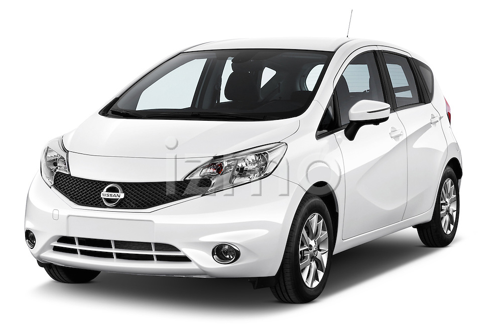 Front three quarter view of a 2013 Nissan NOTE 5 Door Hatchback 2WD